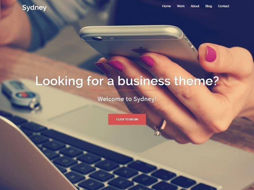 thème WordPress sydney