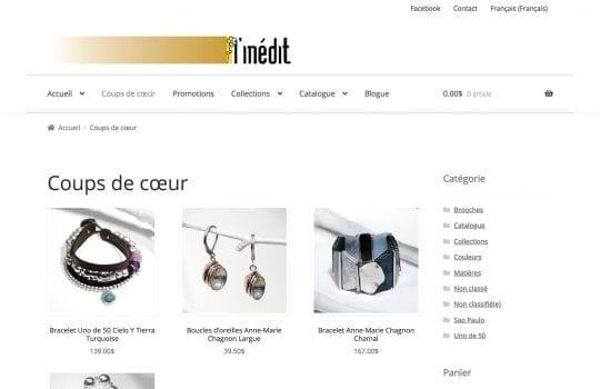 Bijoux L'Inédit