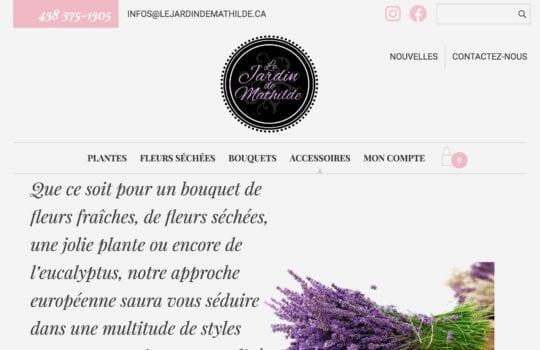 Le jardin de Mathilde