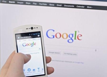 comment faire une recherche sur google